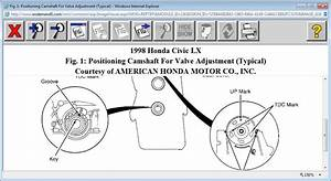 Verify Cam And Crank Timing Marks  My Car Is The Lx Model  Four
