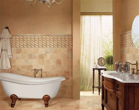 The Options Of Simple & Chic Tiled Bathroom Floors And