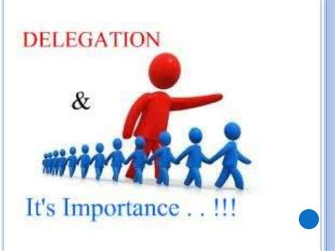 delegation   importance
