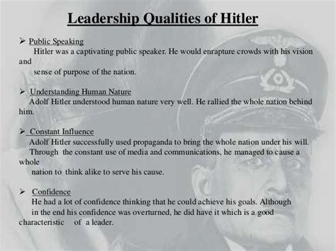 adolf hitler   great leader  reasons  hitler