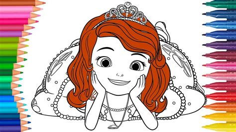Prinzessin Sofia Ausmalbilder Färbung
