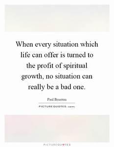 Spiritual Growt... Bad Spiritual Quotes