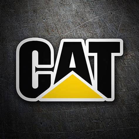 Caterpillar Phone Wallpaper by Autocollant Caterpillar Logo Webstickersmuraux