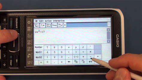 cam  casio ii fx cp classpad calculator arrival  review youtube