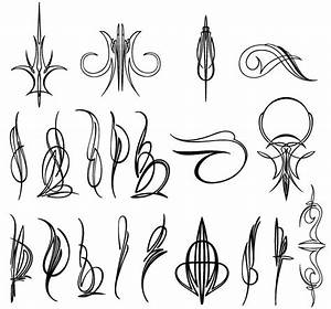 Airbrush Designs For Trucks Vector Pinstripe Designs Sign Writing Pinterest