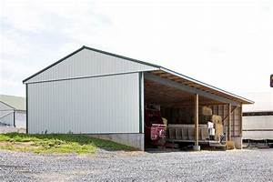 3039 x 7039 hay shed womelsdorf pa creekview construction With 30 x 70 metal building