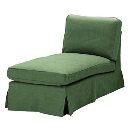 ikea chaise lounge cover ikea ektorp chaise longue cover slipcover svanby green