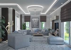 Modele De Salon : villa contemporaine 130m2 etage mod le lavande salon ~ Premium-room.com Idées de Décoration
