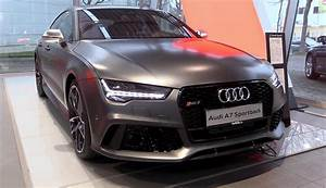 2017 Audi RS7 Performance: Elegance and Power