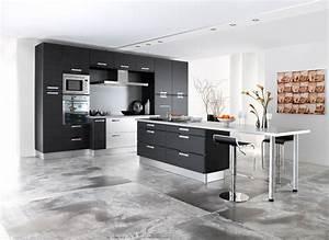 la cuisine ouverte le nouveau salon inspiration With modele de plan maison 14 firme de design et decoration dinterieur designer