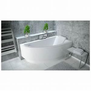 baignoire oriego baignoire design mobilier salle de With carrelage adhesif salle de bain avec ampoule led pour hotte