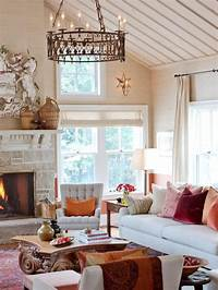 decorative accessories for living room 'Tis Autumn: Living Room Fall Decor Ideas