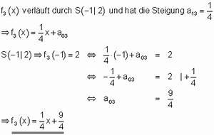 Steigung Im Punkt Berechnen : l sungen lineare funktionen teil xiii ~ Themetempest.com Abrechnung