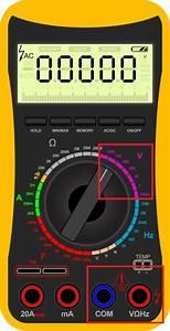 Innenwiderstand Batterie Berechnen : spannung messen mit einem multimeter multimeter ~ Themetempest.com Abrechnung