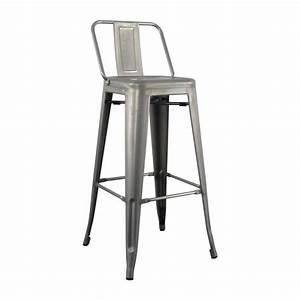 Replica Tolix Low Back High Stool Chair 75cm