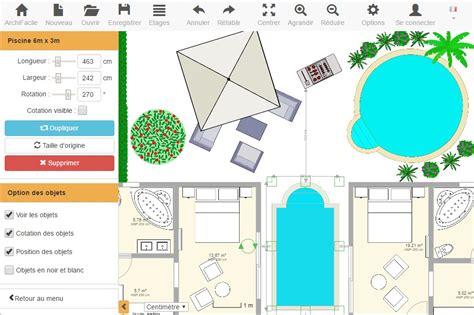 logiciel de dessin de cuisine gratuit plan de piscine gratuit archifacile
