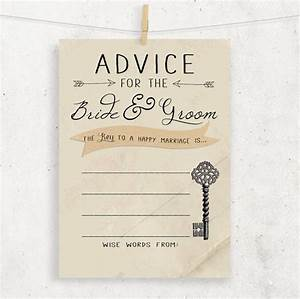 instant download advice for the bride groom wedding With wedding shower for two grooms