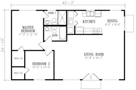 1000 sq ft floor plans mediterranean style house plan 2 beds 2 baths 1000 sq ft