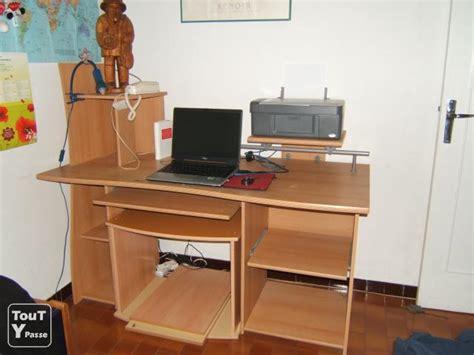 bureau informatique avec rangement bureau avec rangement pour imprimante palzon com