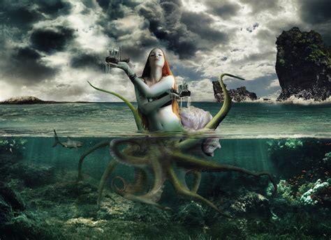 Supernatural Mermaid Wallpapers Hd  Desktop And Mobile