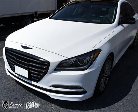 Hyundai Tysons by 2015 3m Satin White Hyundai Genesis