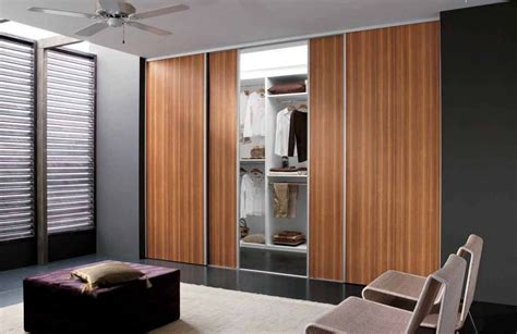 The Functional Of Wood Sliding Closet Doors With Bedroom