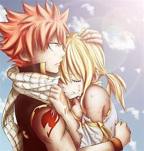 Natsu and Lucy by NorthDream on DeviantArt