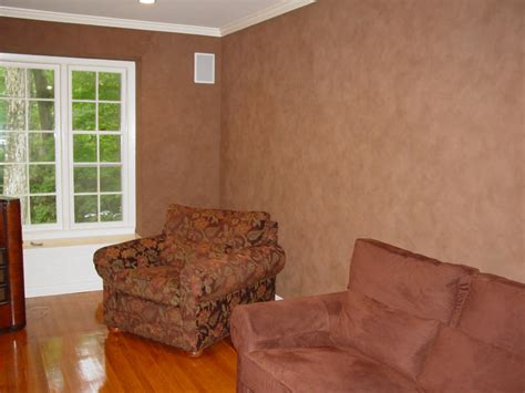 soft brown leather walls in living room leather suede