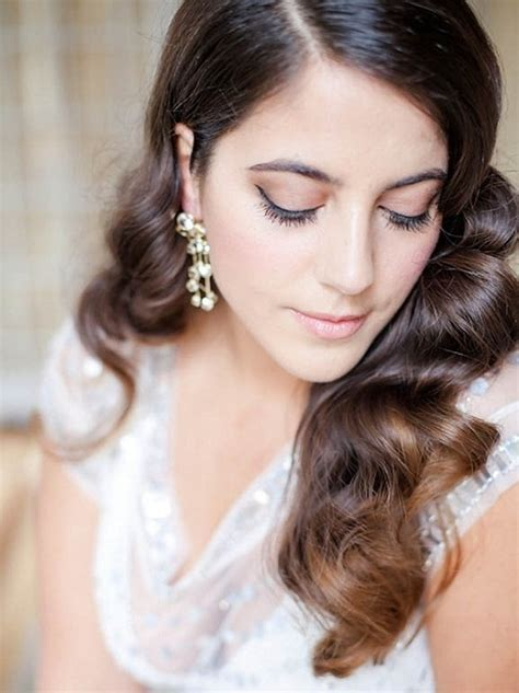 Straight Hairstyles For Wedding Guest   Wedding Dress