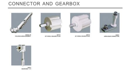 Retractable Awning Accessories, Awning Reel Square Plug