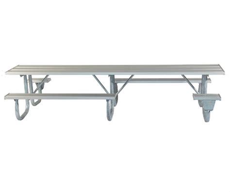 picnic table frame kit ada frame kit for 12 ft picnic table welded 2 3 8
