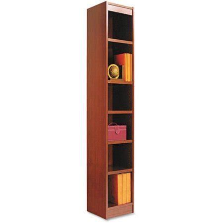 Alera Bookcase by Alera Narrow Profile 6 Shelf Bookcase Wood Veneer 12w X