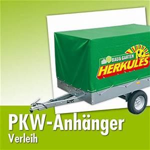 Baumarkt Bad Frankenhausen : pkw anh nger verleih herkules bau garten markt ~ Orissabook.com Haus und Dekorationen