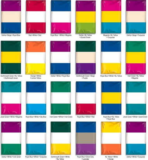 3 color combinations flag color combination sles