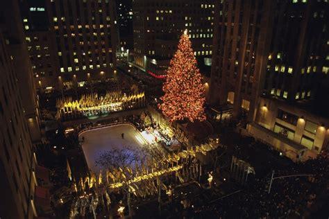 rockefeller center christmas tree history a new york city