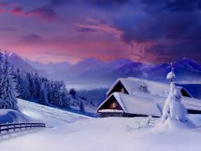 Winter Nature Snow Scenes