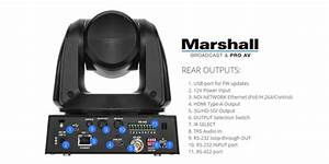 Marshall Cv620-ndiw Full-hd Ptz Camera With Ndi
