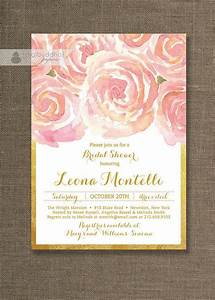25 best ideas about gold bridal showers on pinterest With vistaprint blush wedding invitations