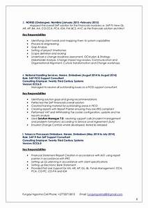 sap fico 3 years experience resumes resume ideas With sample resume for sap abap 1 year of experience