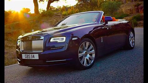rolls royce dawn worlds  silent convertible roof demo