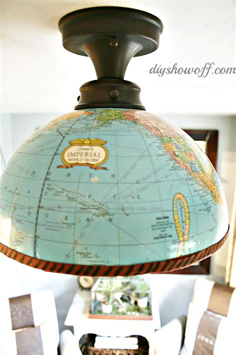 globe diy projects as the world turns the cottage market