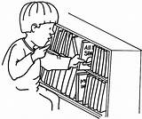 Put Coloring Bookshelf Pages Shelf Kid Drawing Place Getdrawings Getcolorings sketch template