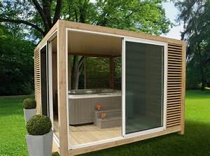 Spa En Bois Pas Cher : bescheiden abri de spa jacuzzi en aluminium moderne abris ~ Premium-room.com Idées de Décoration