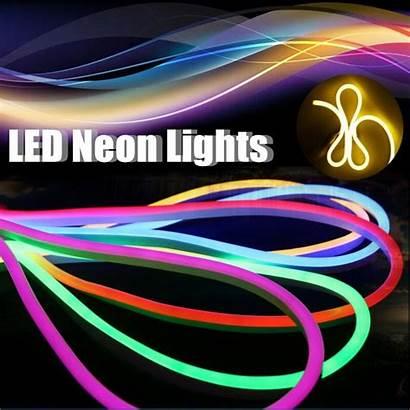 Neon Led Strip 12v Waterproof 3m Lights