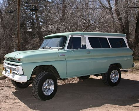 1965 Chevrolet Suburban 4X4   Truckish things   Pinterest