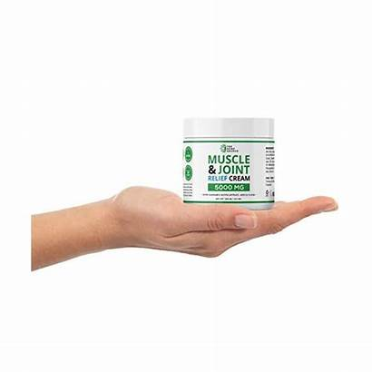 Hemp Cream Muscle Relief 5000mg Menthol Natural