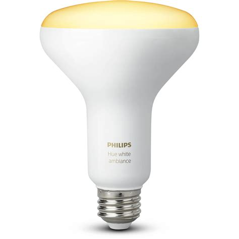 philips hue br30 single bulb white ambiance 2 pack