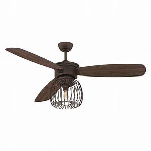 Ceiling fan cage light kit : Lar esp ellington fans quot ceiling fan w