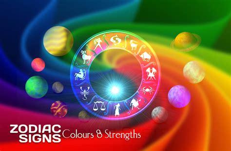colours strengths  rashi zodiac signs vedic