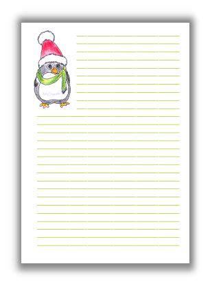 briefpapier weihnachtsvoegelchen kreativzauber